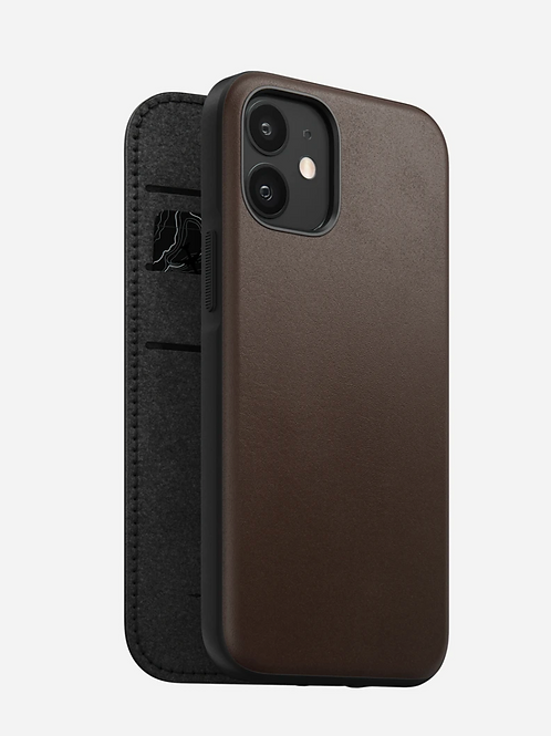 Horween Rugged Folio Case iPhone 12 Mini 5.4""