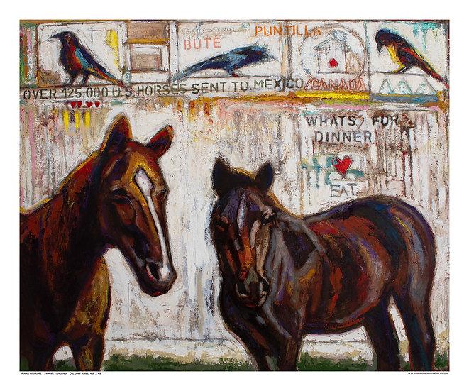 Horse Trading Giclee Print