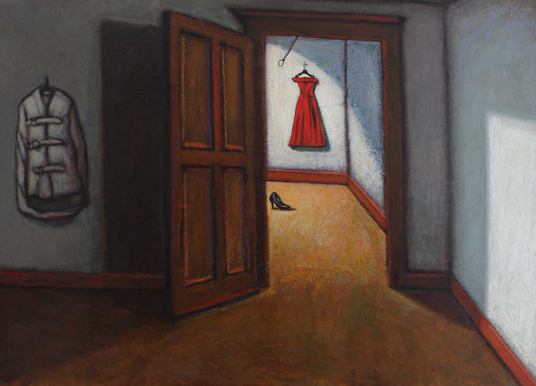 Red Dress-Giclee Print