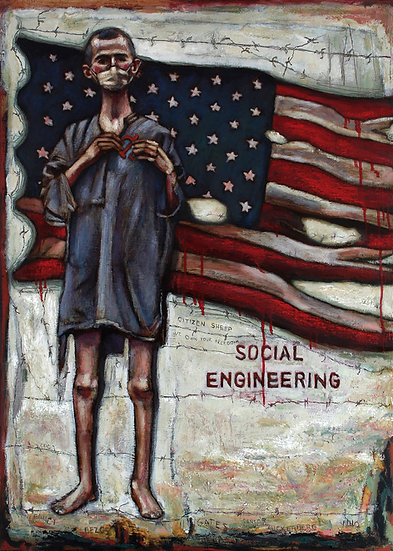 Social Engineering-Giclee Print