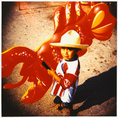 Acapulco Boy With Lobster
