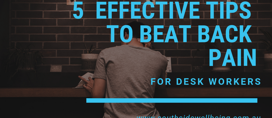 5 Effective Tips to Beat Back Pain