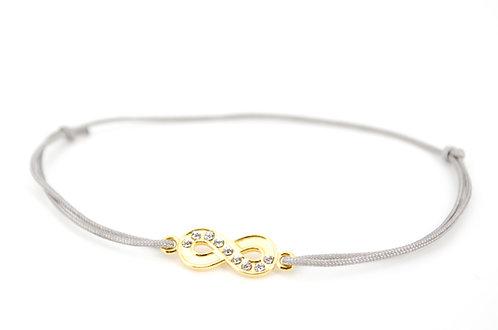 Armband S Infinity F Gold
