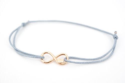 Armband Infinity Rosegold Unendlichkeitszeichen Liebe Geschenk Damen Schmuck