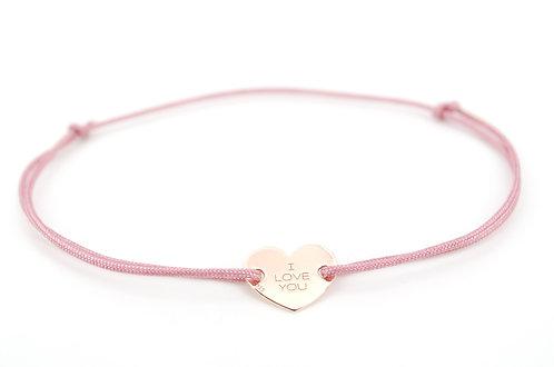 Armband Herz Rosa