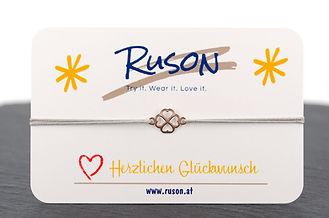 armband schmuck kaufen online damen kleeblatt glück freude geschenkn rosegold herzlichen glückwunsch herz