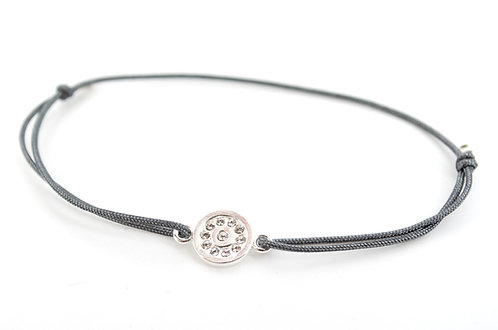 Armband S Plättchen Silber