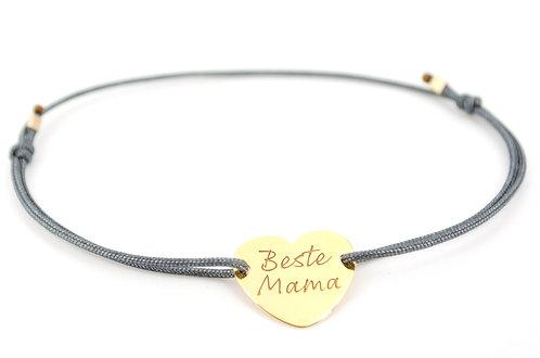 Armband Beste Mama Muttertag Geschenk Gold Herz Liebe Schmuck online kaufen shop