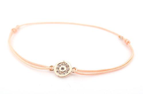 Armband S Plättchen Rosegold