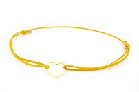 Armband Herz FL Gold