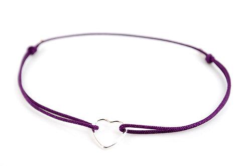 Armband Herz Fil Schmuck kaufen Online Shop Silber 925 Sterling Handmade mit Liebe