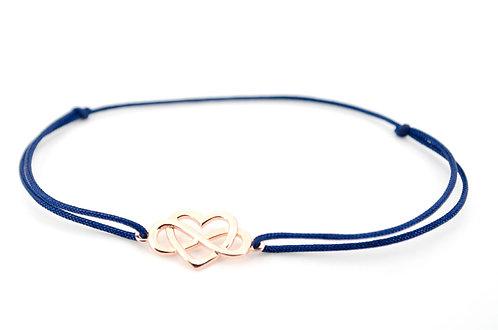 Armband Schmuck kaufen online Rosegold Sterling Silber 925 Herz Infinity Unendlichkeitszeichen Gold Shop Geschenk Liebe