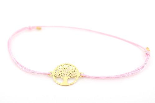 Armband Lebensbaum Gold Tree of life Schmuck filigran zart Damen Geschenk