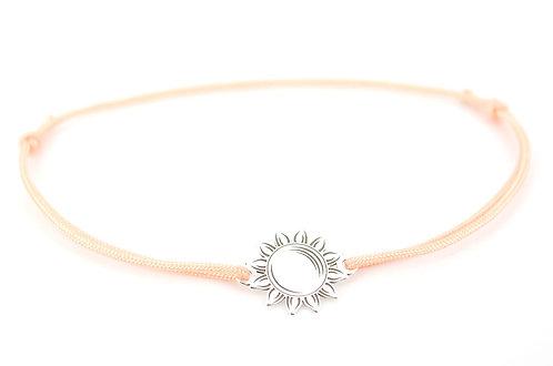 Armband Schmuck Sterling Silber Sonne Damen verstellbar online kaufen handgemacht Handmade individuell