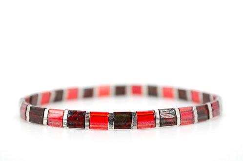 Armband Tila Granat