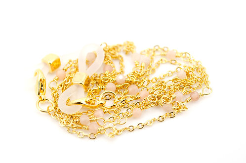 Brillenkette Kette Gold Sonnenbrille Brille Halterung Edelsteine Schmuck online kaufen Damen