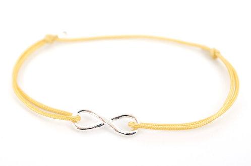 Armband Infinity Unendlichkeitszeichen Schmuck Silber Handmade Glücksarmband Make a wish Damen kaufen für immer Liebe