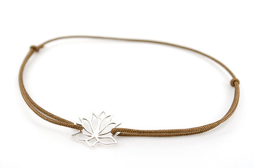 Armband Lotus Lotusblume Lotusblüte Blume Silber 925 Sterling kaufen Damen Geschenk