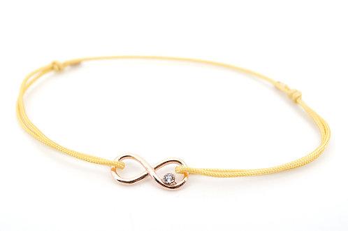 Armband Infinity Swarovski Rosegold Unendlichkeitszeichen Schmuck Damen Geschenk Liebe
