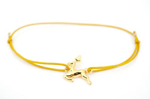 Armband Gold Schmuck kaufen Hirsch Oh my deer online Damen Geschenk Dirndl
