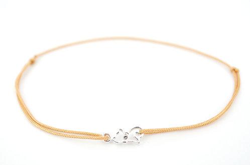 Armband S Katze Silber Swarovski Kristall Schmuck Accessoires kaufen online Shop