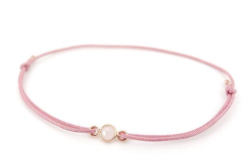 Armband Rosenquarz Rosegold Gemstone Edelstein Schmuck kaufen online Handmade