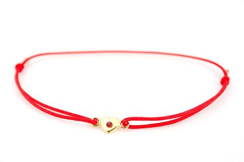 Armband Herz Swarovski rot Damen Schmuck online kaufen individuell Geschenk