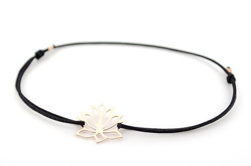 Armband Lotusblume Lotusblüte Lotus Rosegold kaufen online Schmuck Lotus