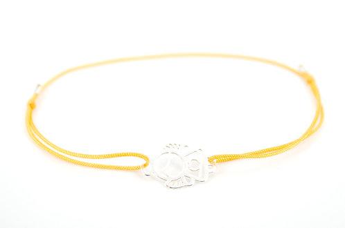 Armband Schutzengel Engel Silber Glücksarmband make a wish Schmuck Herz Geschenk Firmung Kommunion
