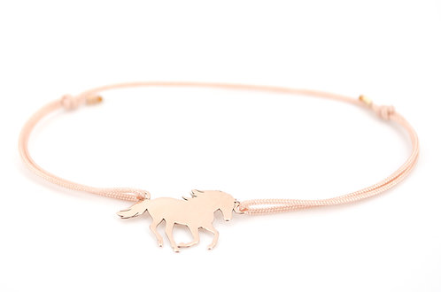 Armband Pferd Rosegold Reiter Schmuck