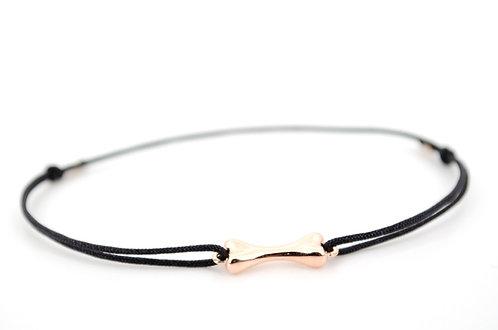 Armband Schmuck online kaufen Hund Knochen Hundeknochen Pfote Tierfreund Rosegold Sterling Silber Geschenk