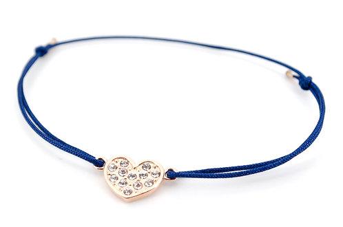 Armband S Herz Rosegold