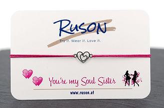armband schmuck kaufen online shop herz herzen silber gold rosegold damen geschenk liebe freunde familie individuell