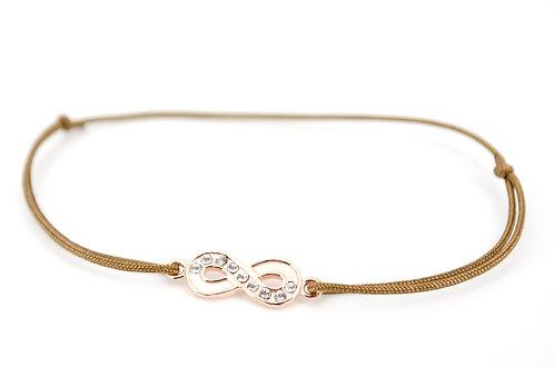 Armband Rosegold Infinity Unendlichkeitszeichen Schmuck Damen online kaufen