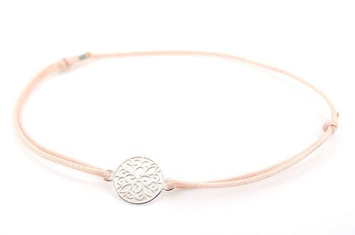 Armband Ornament Silber Blume Kreis Schmuck für Damen Sterling Silber kaufen online