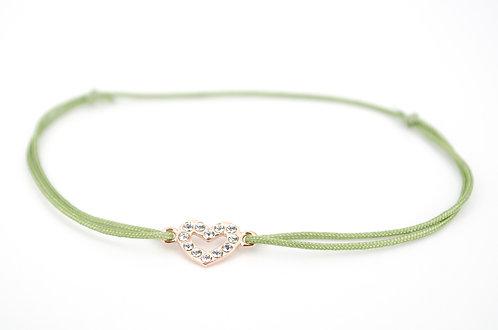 Armband Rosegold Swarovski Schmuck Herz Geschenk Weihnachten Geburtstag Liebe online Shop