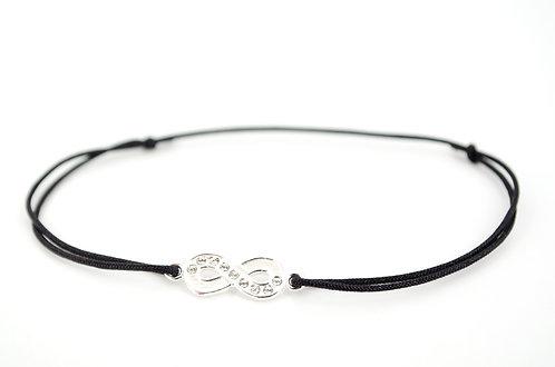 Armband Silber Damen Geschenk Geburtstag Weihnachten Unendlichkeitszeichen Infinity online kaufen Handmade individuell