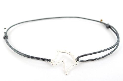 Armband Silber Pferd Tiere Schmuck online kaufen grau schwarz blau rot gruen
