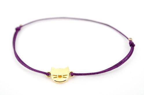 Armband Katze Gold Tiere Schmuck kaufen online Shop Damen