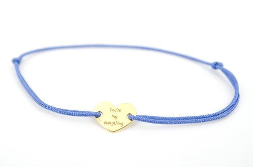 Armband Herz Geschenk Liebe Gold Gravur my everything Schmuck online kaufen