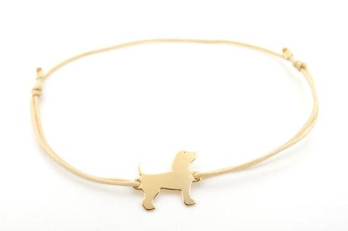Armband Schmuck kaufen online Shop Hund Pfote Gold Rosegold Silber Tierliebe Tiere Tier