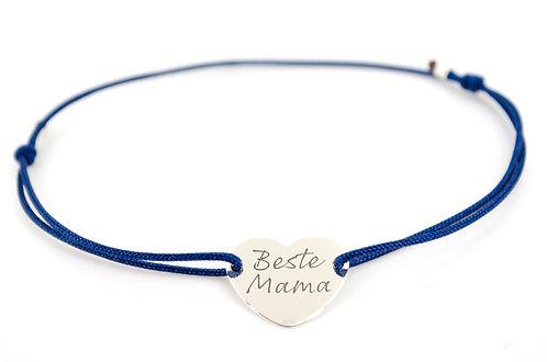 Armband Beste Mama Sterling Silber 925 Herz Muttertag Geschenk Liebe Schmuck online kaufen Shop Handmade