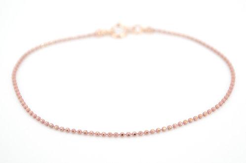 Armkettchen Damen Rosa Kugelkette