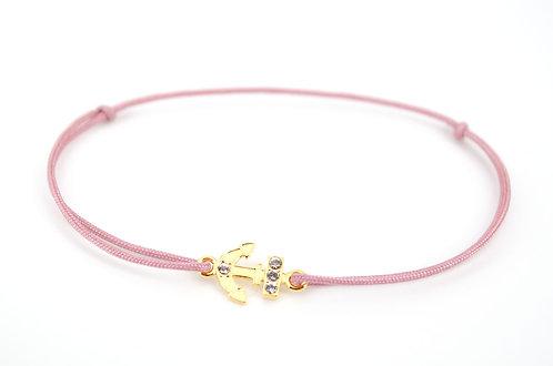 Armband Anker Gold Schmuck Damen individuell Armkette online Shop Geschenk