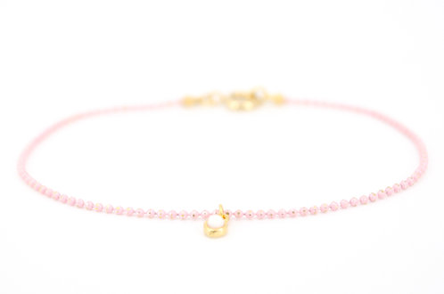 Armkettchen Rosa Gold für Damen und Mädchen