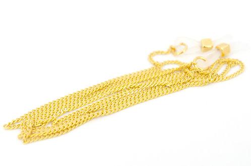 Brillen- und Maskenkette Ovalon Gelb