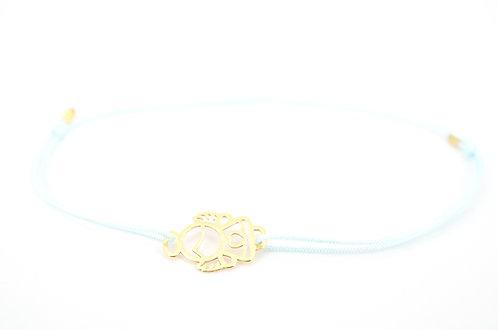 Armband Schutzengel Engel Gold Glücksarmband make a wish Schmuck Herz Geschenk Firmung Kommunion
