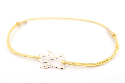 Armband Engel L Rosegold