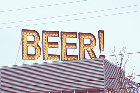 Signe de bière