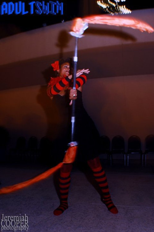 Strange Family Circus Striped Socks